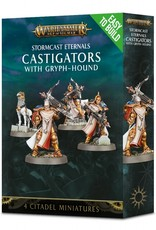 Games Workshop Easy to Build Stormcast Eternals Castigators with Gryph-Hound