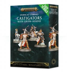 Games Workshop Easy to Build Stormcast Eternals Castigators with Gryph-Hound