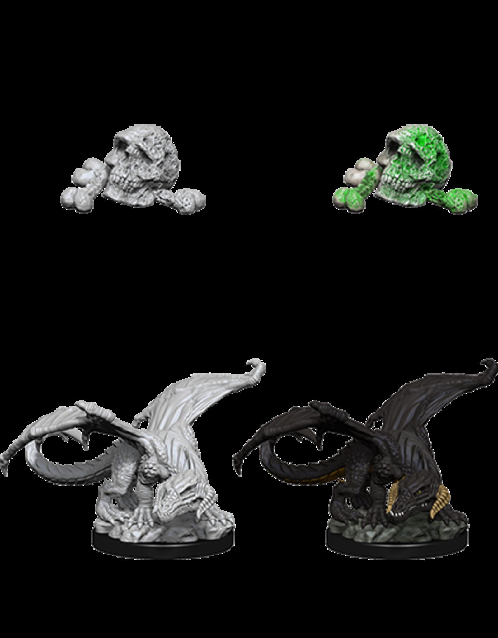 Wizkids D&D Nolzur's Marvelous Miniatures Black Dragon Wyrmling