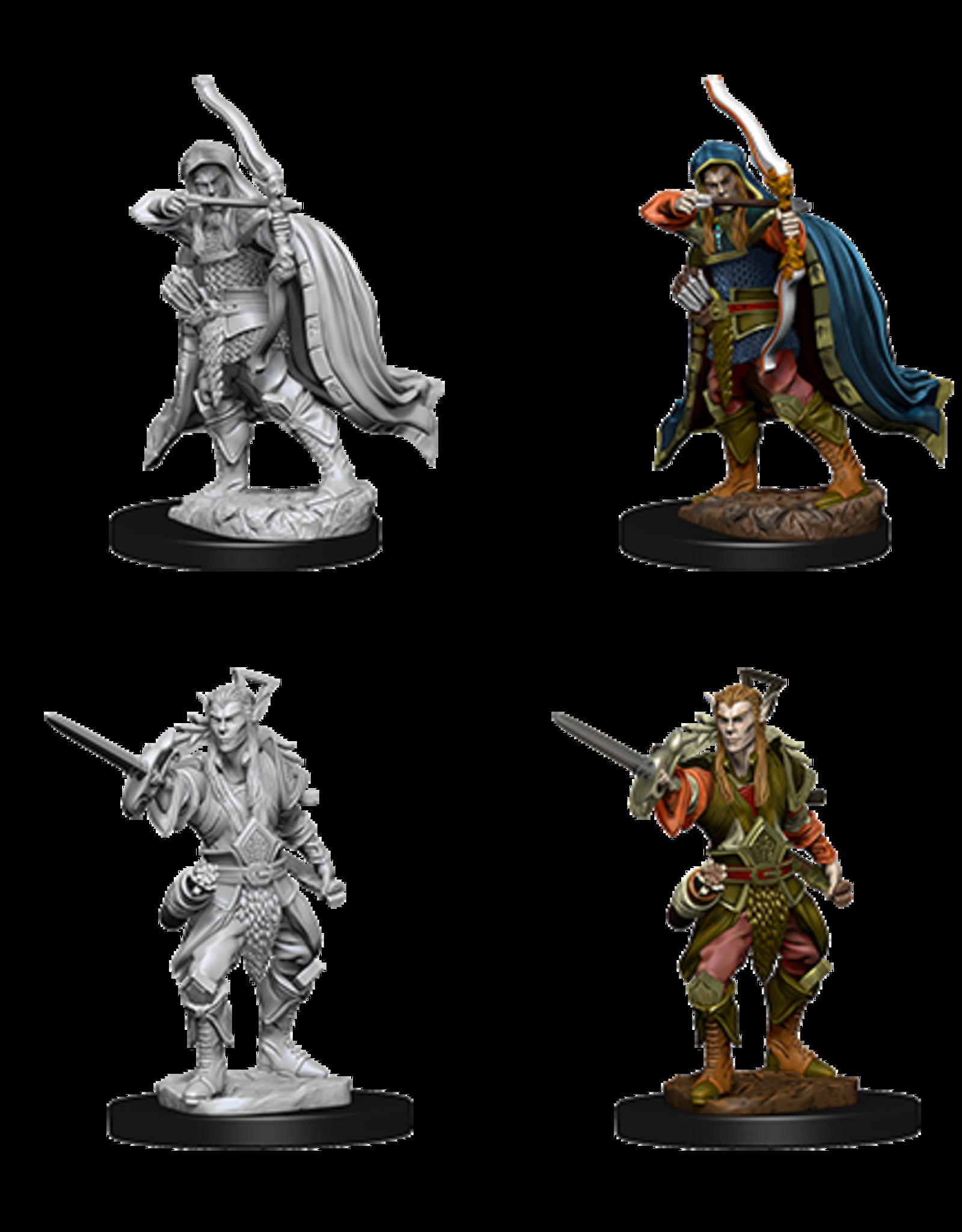Wizkids D&D Nolzur's Marvelous Miniatures Elf Rogue Male