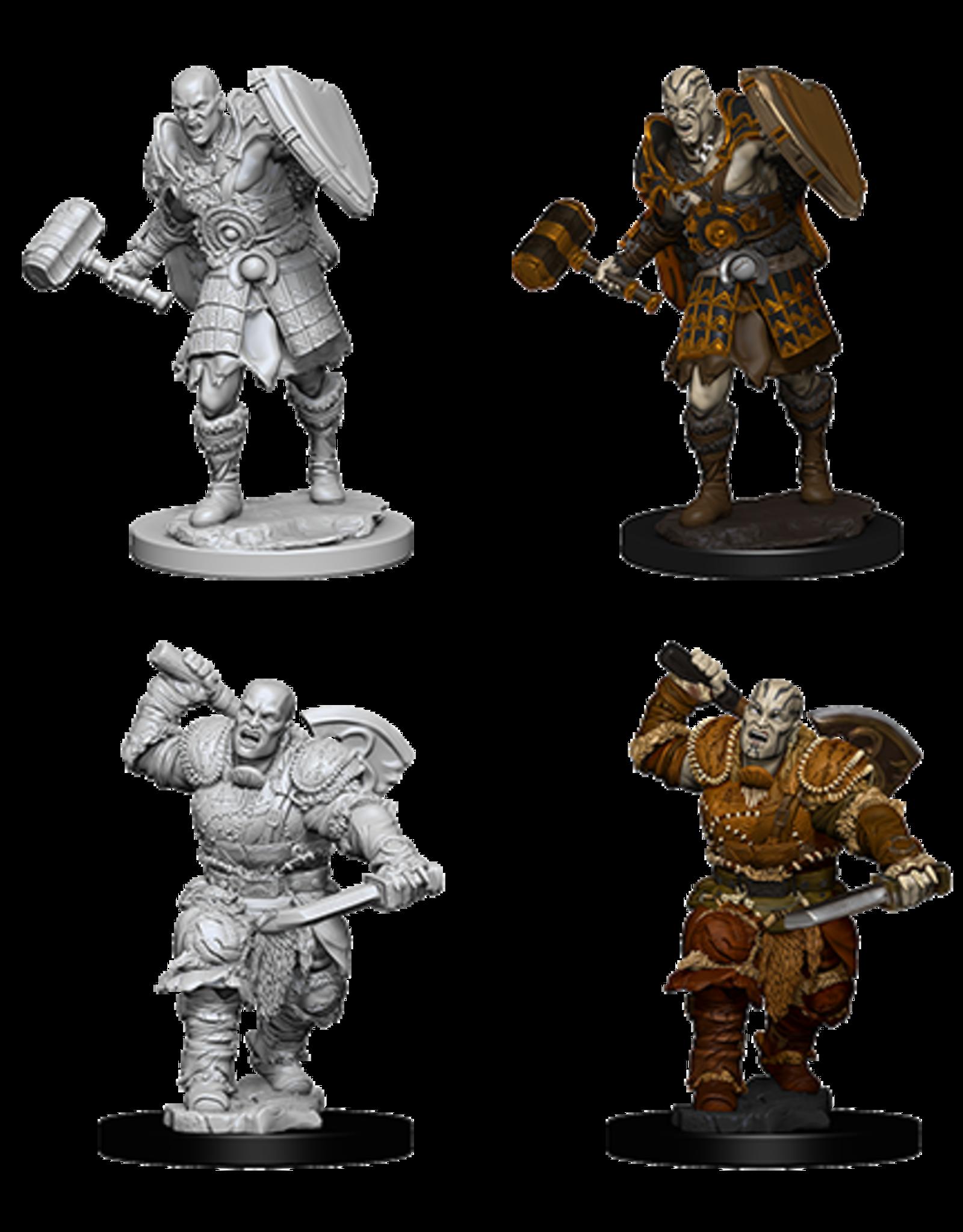 Wizkids D&D Nolzur's Marvelous Miniatures Goliath Fighter Male