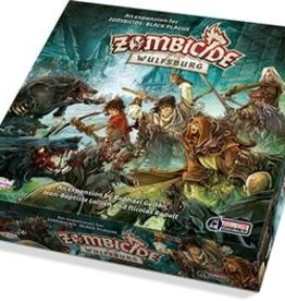 Cool Mini or Not Zombicide Black Plague Wulfsburg expansion