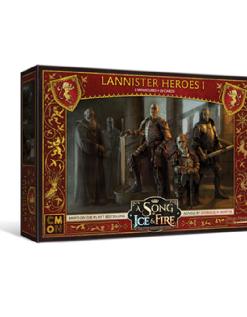 Cool Mini or Not A Song of Ice and Fire Lannister Heroes I