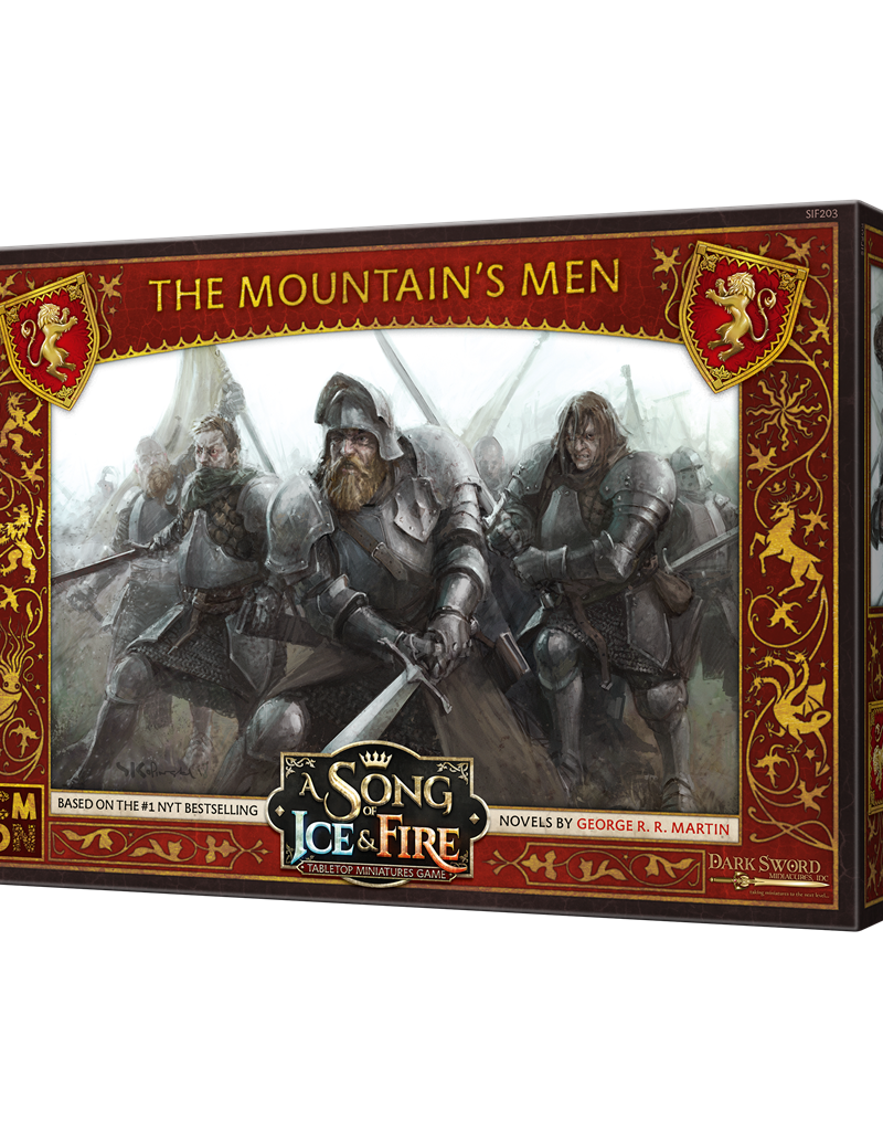 Cool Mini or Not A Song of Ice and Fire The Mountain's Men