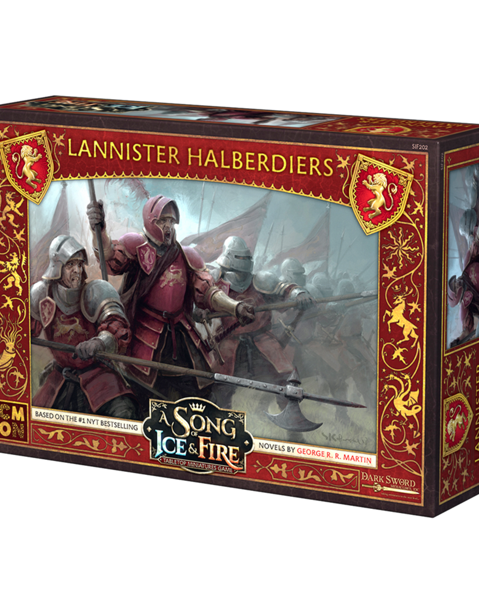 Cool Mini or Not A Song of Ice and Fire Lannister Halberdiers