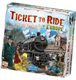 Days of Wonder Ticket to Ride: Europe (EN)