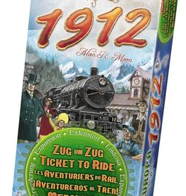 Days of Wonder Ticket to Ride: Europe 1912 (NL/EN/DE/FR/SP/IT)