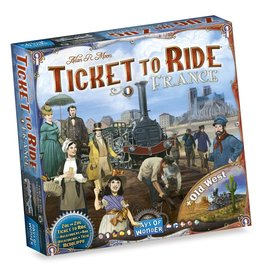 Days of Wonder Ticket to Ride: France/Old West (NL/EN/DE/FR/SP/IT)