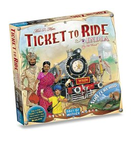Days of Wonder Ticket to Ride India (Map collection 2 inc Switserland)
