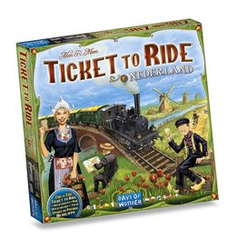 Days of Wonder Ticket to Ride: Nederland (NL/EN/DE/FR/SP/IT)