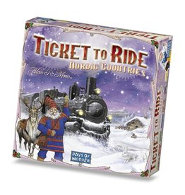 Days of Wonder Ticket to Ride: Nordic Countries (EN)