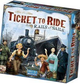Days of Wonder Ticket to Ride: Rails and Sails (EN)