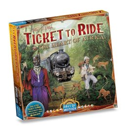 Days of Wonder Ticket to Ride: Africa (NL/EN/DE/FR/SP/IT)