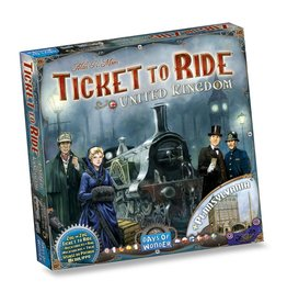Days of Wonder Ticket to Ride: UK/Pennsylvania (NL/EN/DE/FR/SP/IT)