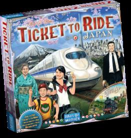 Days of Wonder Ticket to Ride: Japan/Italy (NL/EN/DE/FR/SP/IT)