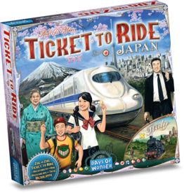 Days of Wonder Ticket to Ride Japan/Italy