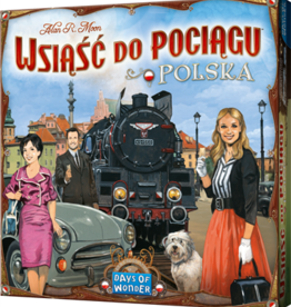 Days of Wonder Ticket to Ride: Poland (EN/PO)