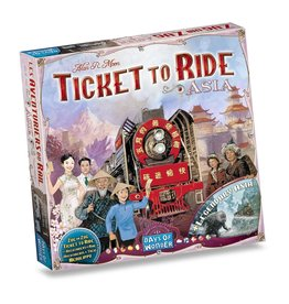 Days of Wonder Ticket to Ride: Asia (NL/EN/DE/FR/SP/IT)