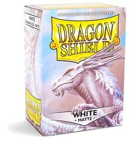 Dragonshield Dragonshield 100 Box Sleeves Matte White