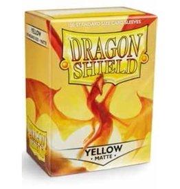 Dragonshield Dragonshield 100 Box Sleeves Matte Yellow
