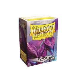 Dragonshield Dragonshield 100 Box Sleeves Non-Glare Matte Purple