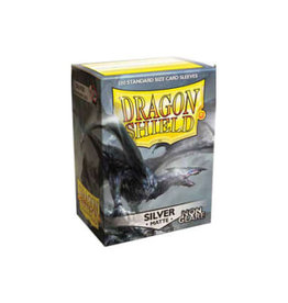Dragonshield Dragonshield 100 Box Sleeves Non-Glare Matte Silver