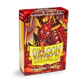 Dragonshield Dragonshield 60 box Japanese Crimson Matte