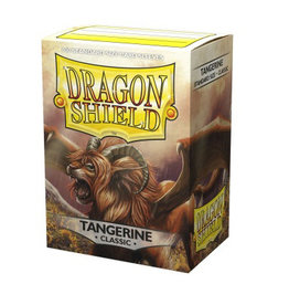 Dragonshield Dragonshield 100 Box Sleeves Classic Tangerine