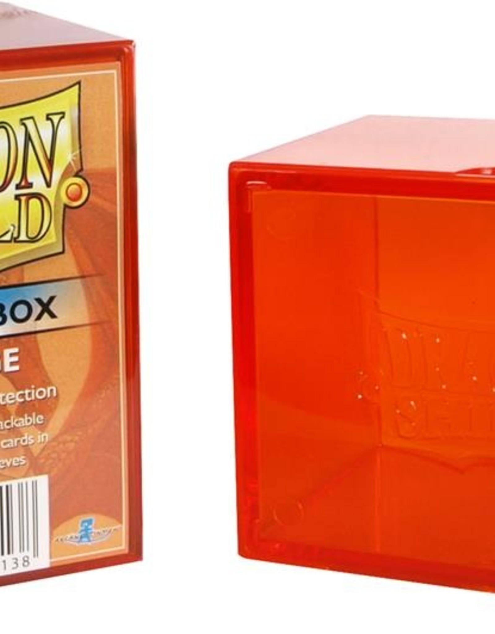 Dragonshield Dragonshield Strongbox Orange