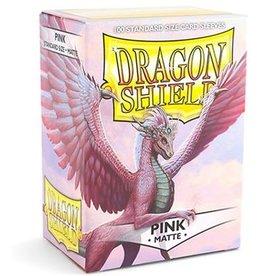 Dragonshield Dragonshield 100 Box Sleeves Matte Pink