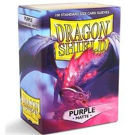 Dragonshield Dragonshield 100 Box Sleeves Matte Purple