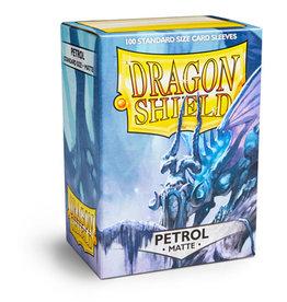 Dragonshield Dragonshield 100 Box Sleeves Matte Petrol