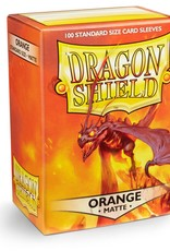 Dragonshield Dragonshield 100 Box Sleeves Matte Orange