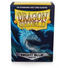 Dragonshield Dragonshield 100 Box Sleeves Matte Night Blue