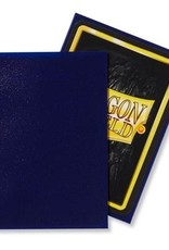 Dragonshield Dragonshield 100 Box Sleeves Matte Night Blue