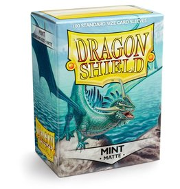 Dragonshield Dragonshield 100 Box Sleeves Matte Mint