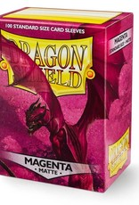 Dragonshield Dragonshield 100 Box Sleeves Matte Magenta
