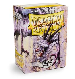 Dragonshield Dragonshield 100 Box Sleeves Matte Lilac