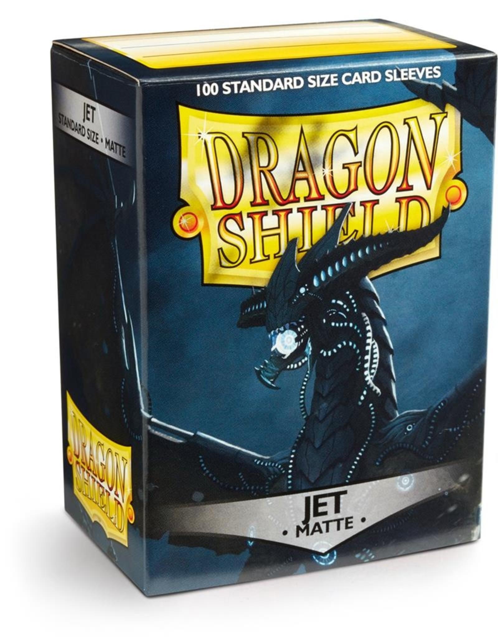 Dragonshield Dragonshield 100 Box Sleeves Matte Jet
