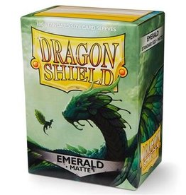 Dragonshield Dragonshield 100 Box Sleeves Matte Emerald