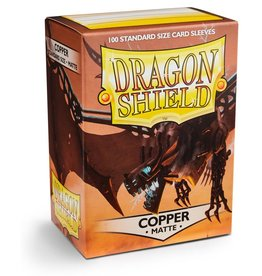 Dragonshield Dragonshield 100 Box Sleeves Matte Copper