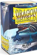 Dragonshield Dragonshield 100 Box Sleeves Matte Blue