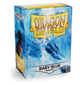 Dragonshield Dragonshield 100 Box Sleeves Matte Baby Blue