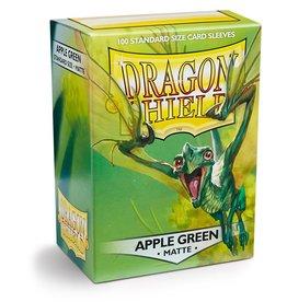 Dragonshield Dragonshield 100 Box Sleeves Matte Apple Green