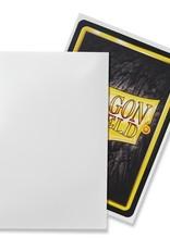 Dragonshield Dragonshield 100 Box Sleeves Classic White
