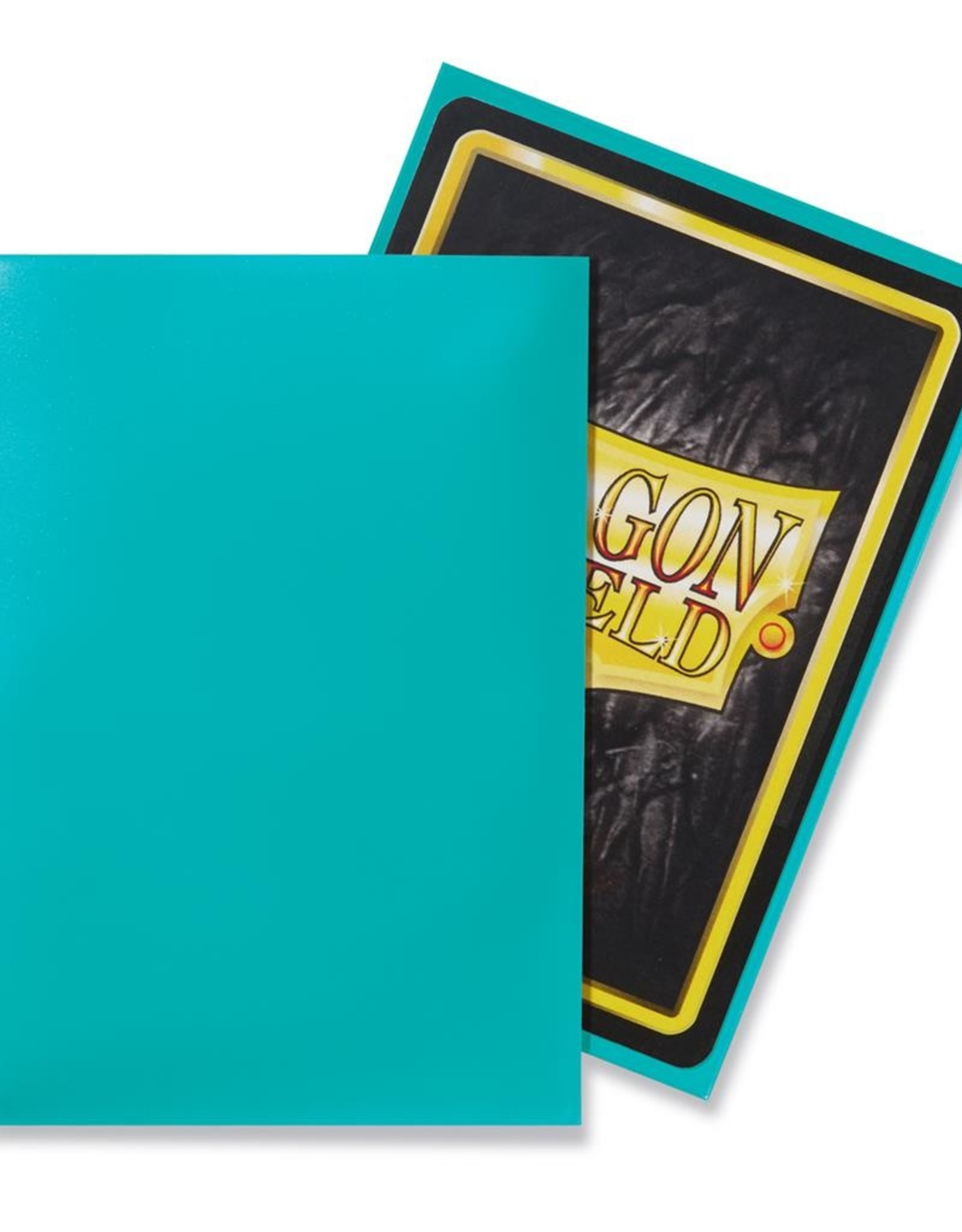 Dragonshield Dragonshield 100 Box Sleeves Classic Turquoise