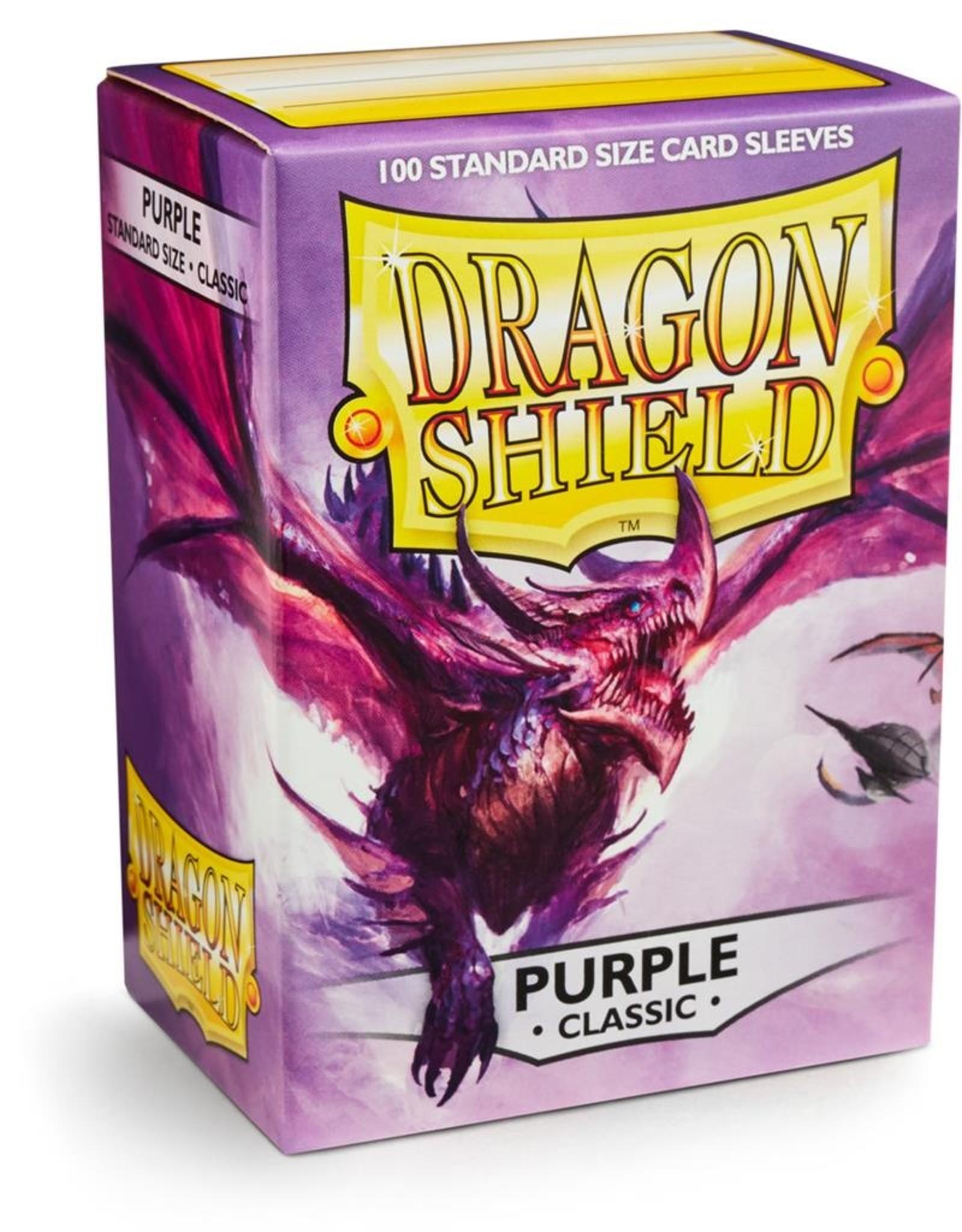 Dragonshield Dragonshield 100 Box Sleeves Classic Purple