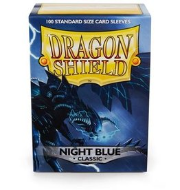 Dragonshield Dragonshield 100 Box Sleeves Classic Night Blue