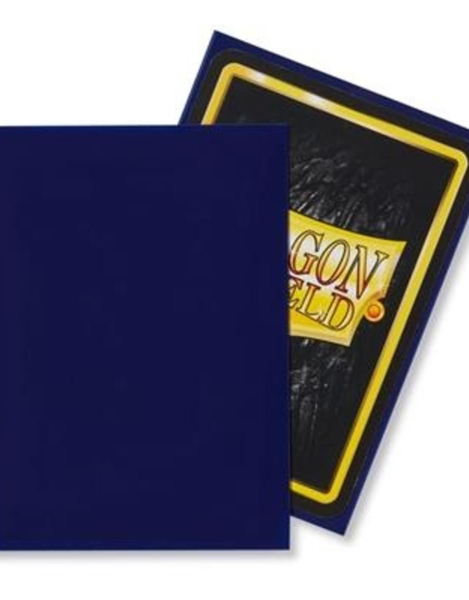 Dragonshield Dragonshield 100 Box Sleeves Classic Night Blue