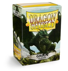 Dragonshield Dragonshield 100 Box Sleeves Classic Green